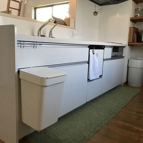 キッチンゴミ箱収納場所浮かす