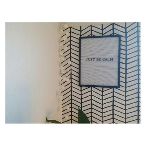 マスキングテープ壁紙リメイクアイデアジオメトリー