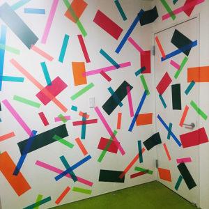 マスキングテープ壁紙リメイクアイデアランダム