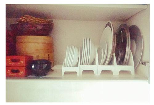 ニトリ食器収納アイデアプレートスタンド