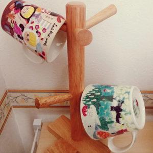 ニトリ食器収納アイデアマグカップツリー
