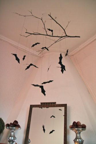 天井を100均×手作りでおしゃれに飾ったアイデア