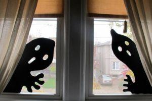 ハロウィンの壁を100均×手作りでおしゃれに飾ったアイデア