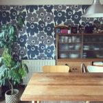 マリメッコ好きのインテリア部屋壁を飾る壁紙