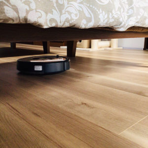 ルンバが走れるアイデア 脚付き家具 ベッド