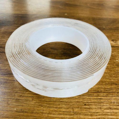 ルンバが走れるアイデア 浮かせる収納 魔法のテープ