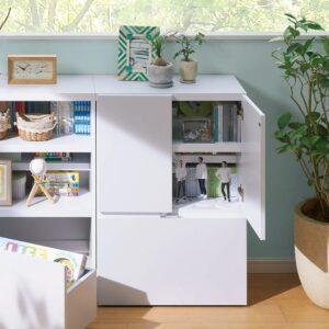 取っ手すらない究極のシンプル収納家具